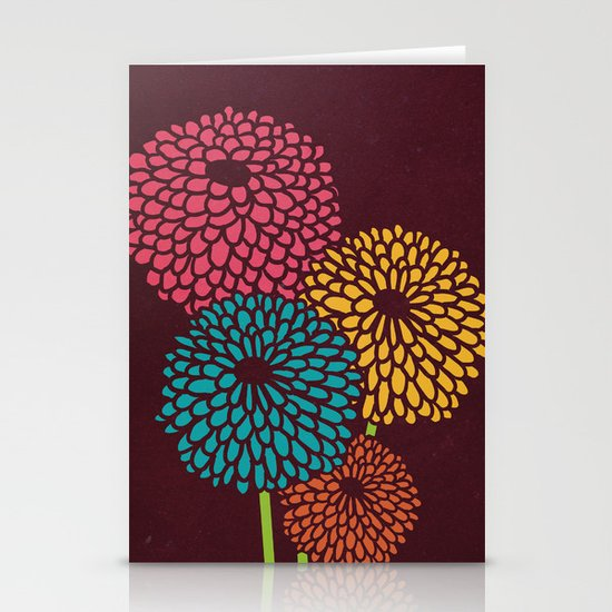Still Life Chrysanthemum Stationery Card