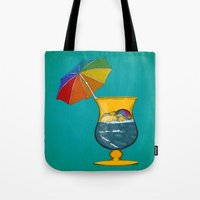 Tote Bag featuring Surf's Up by Megs stuff...