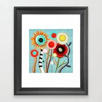 The Days Blur Into One M… Framed Art Print