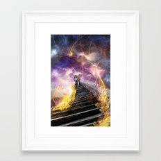 Stairs of Revelation Framed Art Print