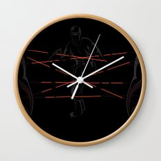 Agent's Cradle Wall Clock