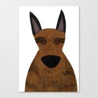 Dog - German Shepherd 2 Canvas Print
