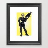 Calhoun Mini-Print Framed Art Print
