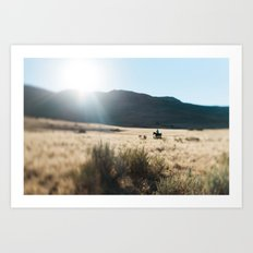 How The West Was Won Art Print