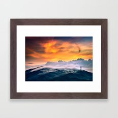 Morning Cloudscape Framed Art Print