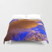 Amazing Jellyfish Duvet Cover