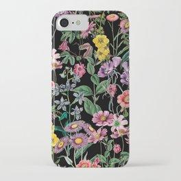 Clear iPhone Case - NIGHT FOREST XIV - Burcu Korkmazyurek