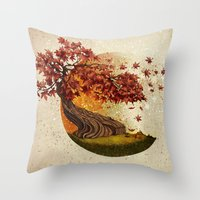 Autumn And Other Stories Throw Pillow