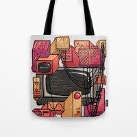 Digital Playground Tote Bag