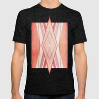 Money Pattern Respect Mens Fitted Tee Tri-Black SMALL
