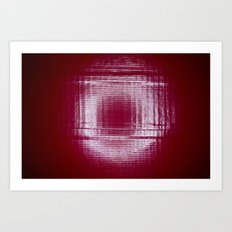 Under the Ring Light Art Print