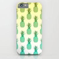 Pineapple Pattern iPhone 6 Slim Case
