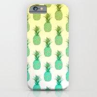 Pineapple Pattern iPhone 6 Slim Case