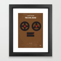 No380 My The Evil Dead M… Framed Art Print