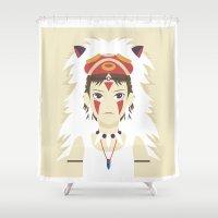 The Spirit Princess Shower Curtain