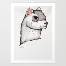 Don't try to weasel your way out. Art Print
