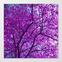 purple tree XXXI Canvas Print