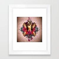 Kaleidoscope Man #2 Framed Art Print