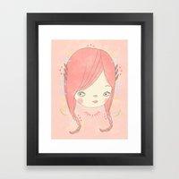 소녀 THIS GIRL Framed Art Print
