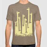 Such A Great Height Mens Fitted Tee Tri-Coffee SMALL