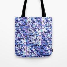 Prayer Prism (blue) Tote Bag