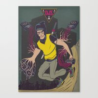 DJZ Canvas Print