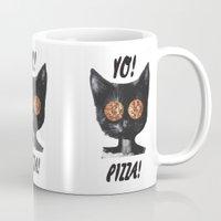 Pizza cat Mug