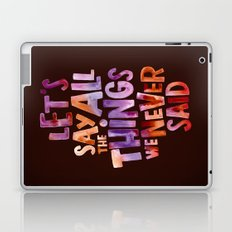 All The Things Laptop & iPad Skin