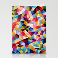Space Shapes Stationery Cards