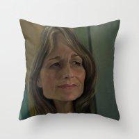 Helen Hunt Throw Pillow