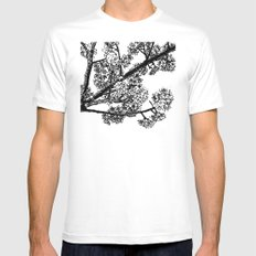 Cherry Blossom #6 Mens Fitted Tee White SMALL