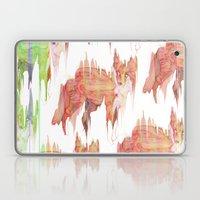 Remix Red Fox Laptop & iPad Skin
