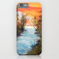 iPhone & iPod Case featuring Lazy River by Kr_design