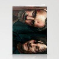 walking dead Stationery Cards featuring Dead Walking by ChrisHdzArt