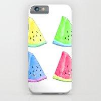 Watermelon Color Mix iPhone 6 Slim Case