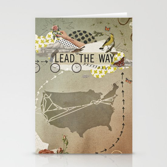 lead the way Stationery Card