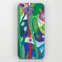 iPhone & iPod Skin featuring Secret garden I  by Milanesa