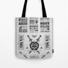 Legend of Zelda - The Hylian Shield Foundry Tote Bag