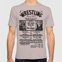 #11 Memphis Wrestling Wi… Mens Fitted Tee Cinder SMALL