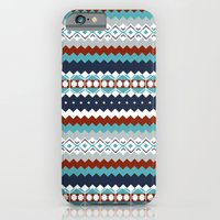 iPhone & iPod Case featuring Navajo Pattern by Sean O'Connor
