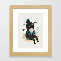 We Are Inseparable! Framed Art Print