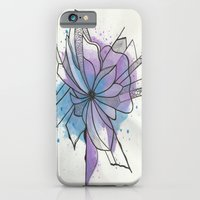 Explosion Flower Blue An… iPhone 6 Slim Case