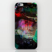 The Man In Black iPhone & iPod Skin