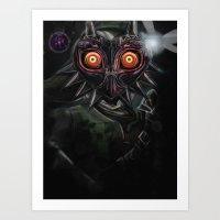 Legend Of Zelda Majora's… Art Print