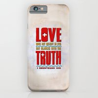 iPhone & iPod Case featuring Love & Truth by Peter Gross