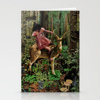 Deerlove | Collage Stationery Cards