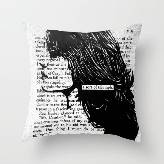A Sort of Triumph Throw Pillow