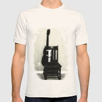 This Chair and Guitar Weren't Always So Lonely Mens Fitted Tee Natural SMALL