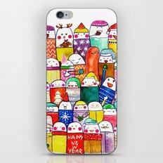 Snow People iPhone & iPod Skin