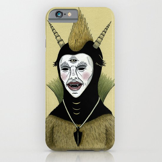 Creature with Black Amulet  iPhone & iPod Case